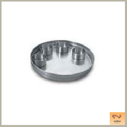 Stainless Steel Thali Plates