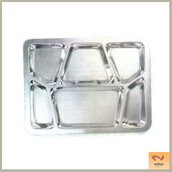 Stainless Steel Split Meals/Tiffin Plates